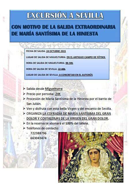 Cartel a Sevilla
