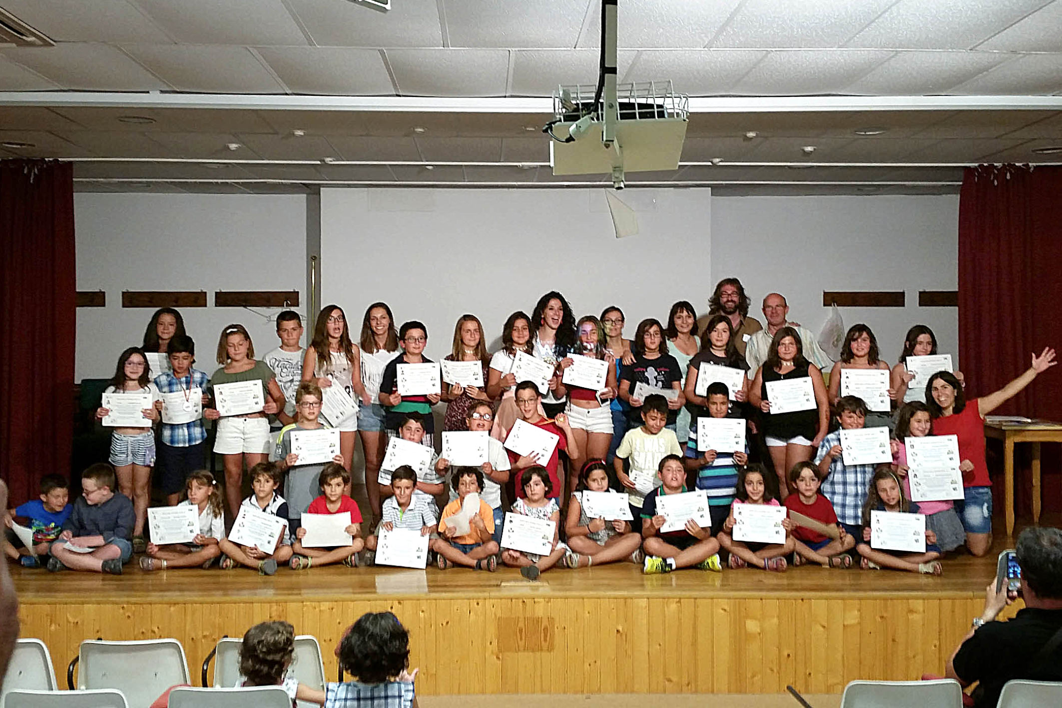 Clausura de la Escuela de Verano Ludoteca / Centro Infanto-Juvenil