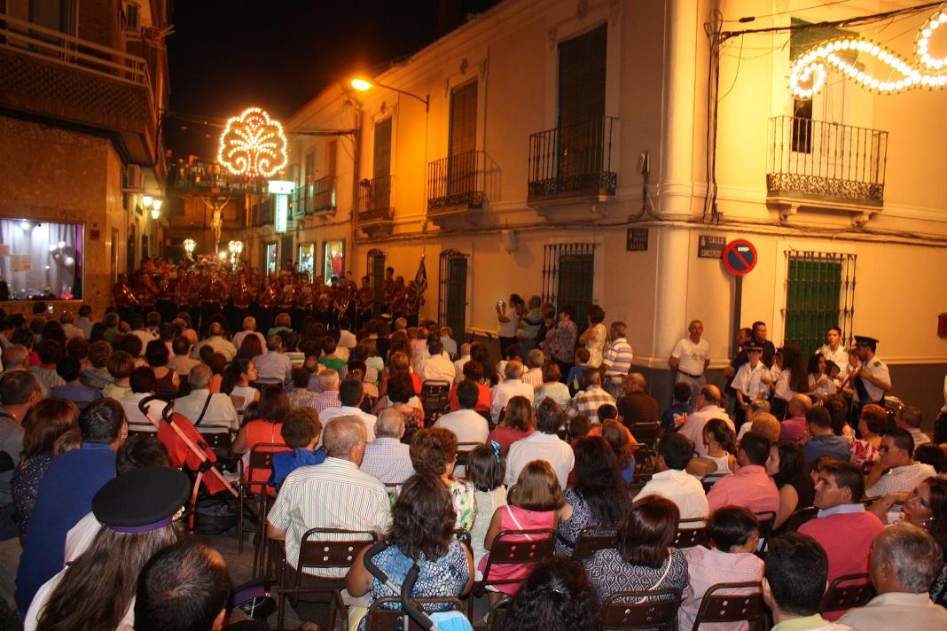 Un concierto de bandas abrió las fiestas del Cristo del Amor de La Solana