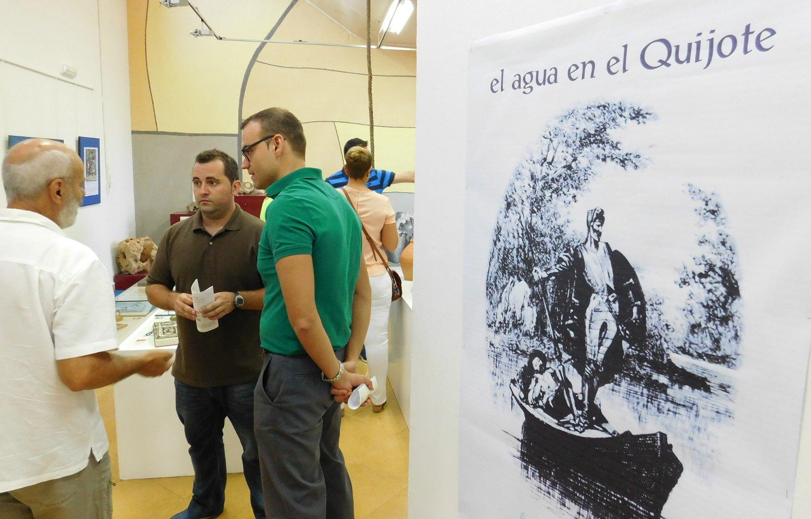El Centro del Agua se suma a la celebración del centenario de la segunda parte de El Quijote