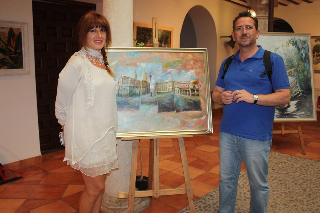 Exposición de pintura de Maylu