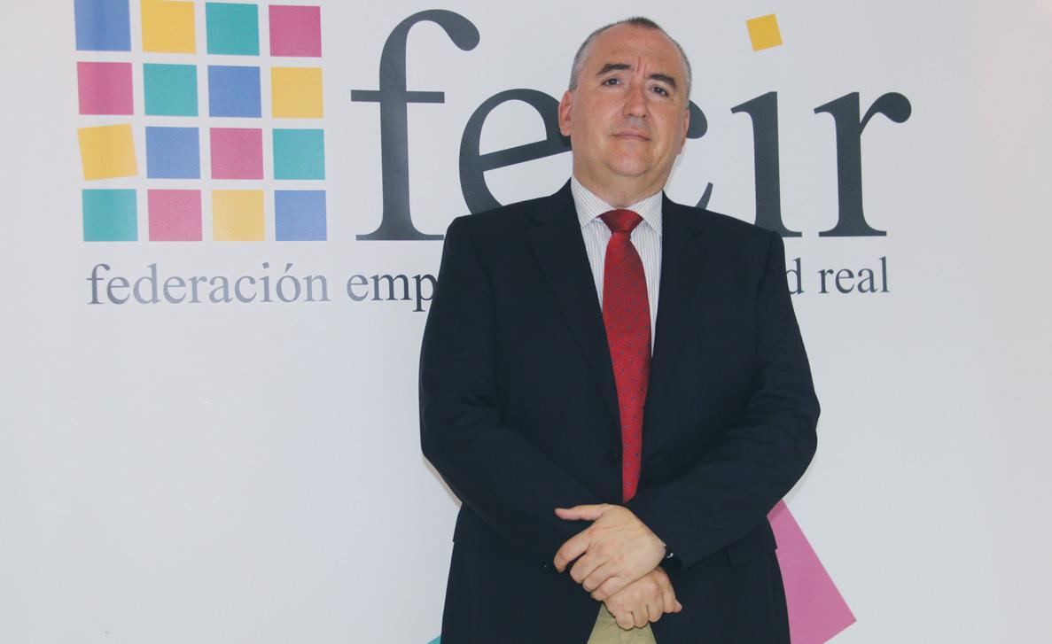 Carlos Ramón Marín de la Rubia. Presidente de la Federación Empresarial de Ciudad Real, FECIR