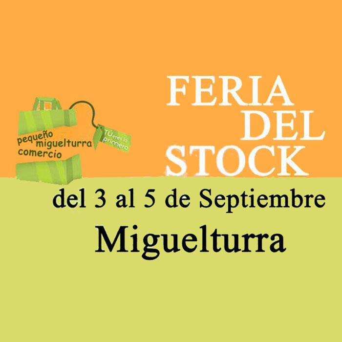 Grandes descuentos y rebajas llegan con la Feria del Stock de Miguelturra