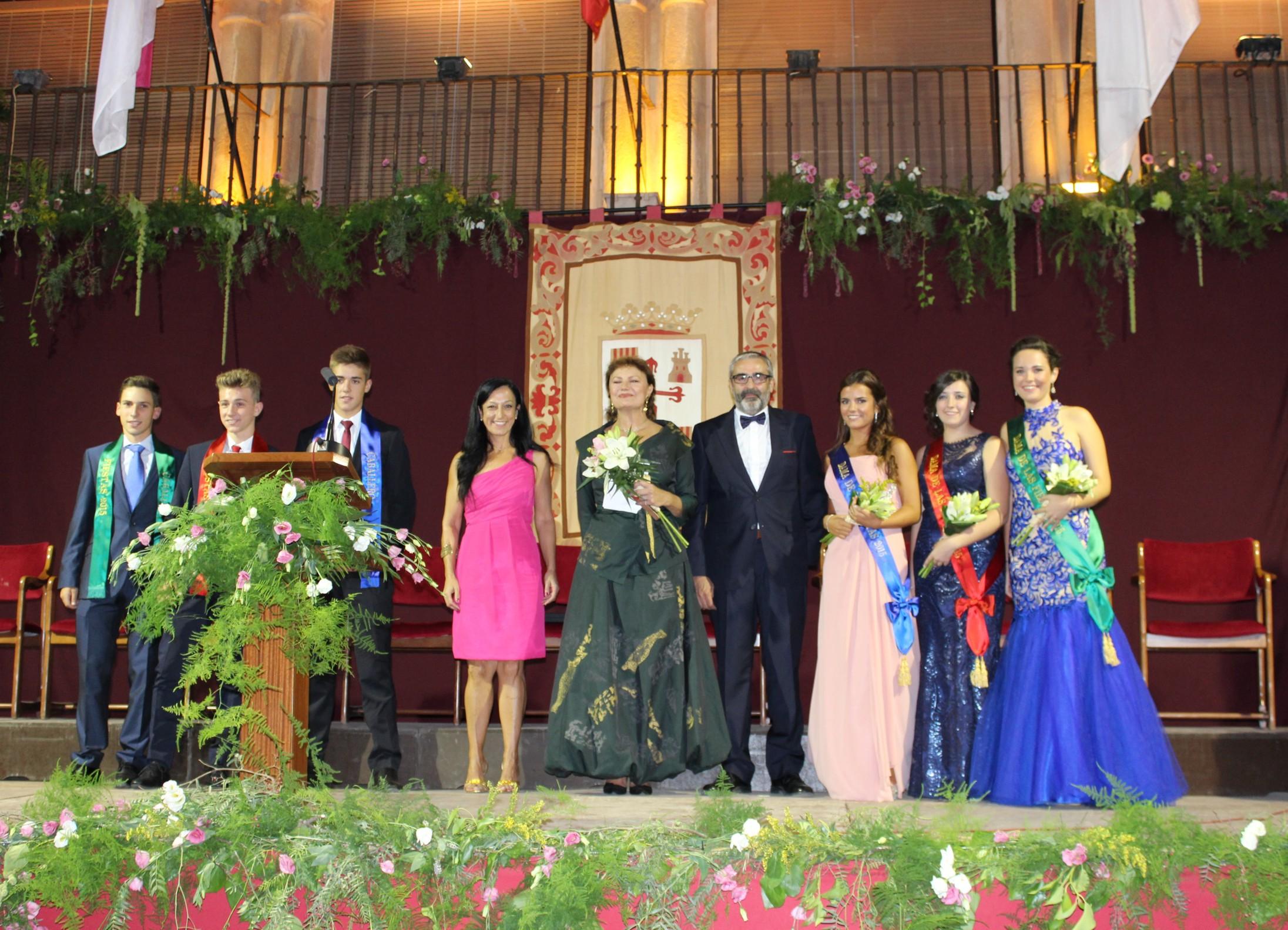 La emblemática Plaza Mayor acogió la inauguración de la Feria y Fiestas