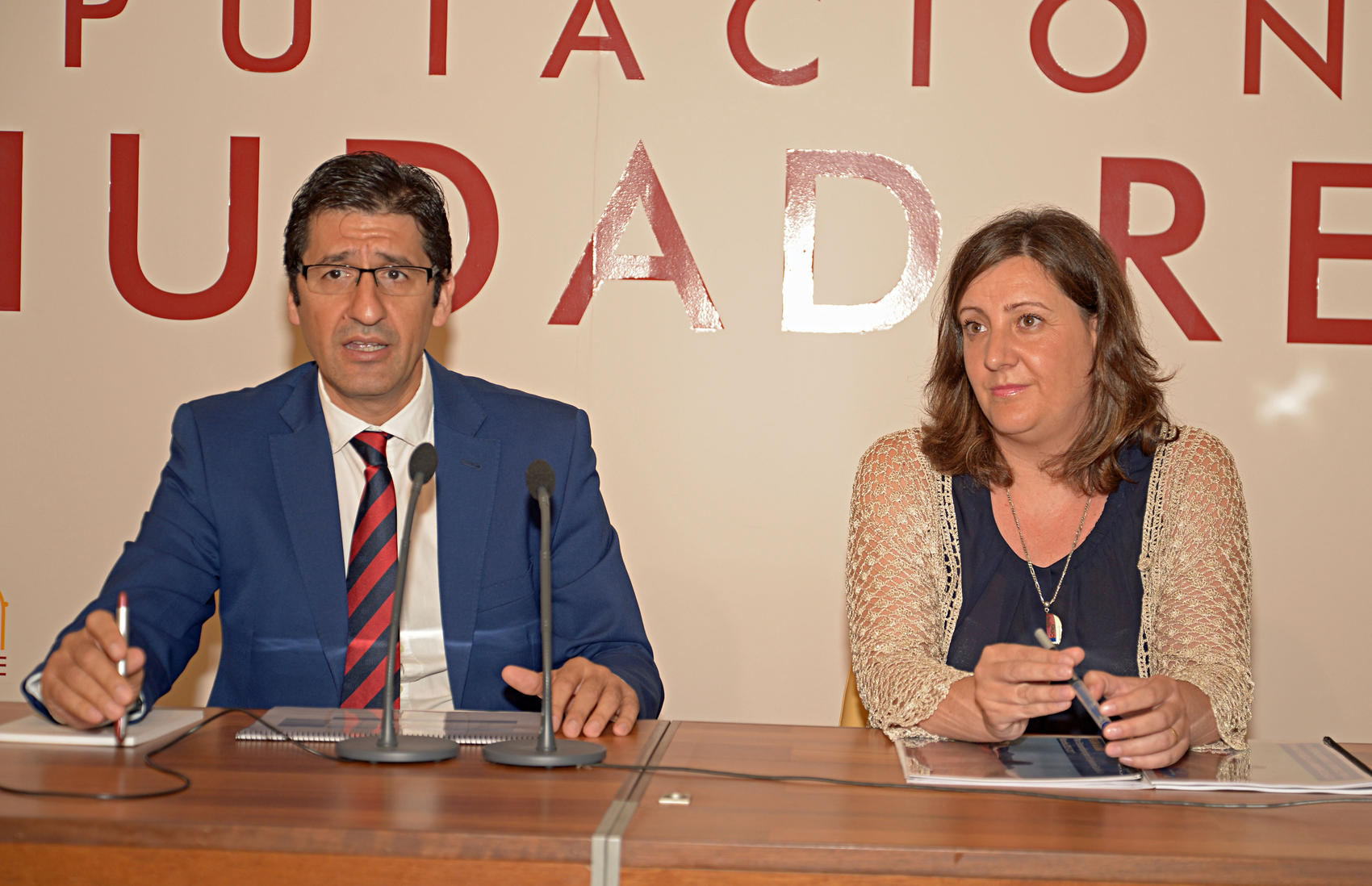 Jose Manuel Caballero y Patricia Franco