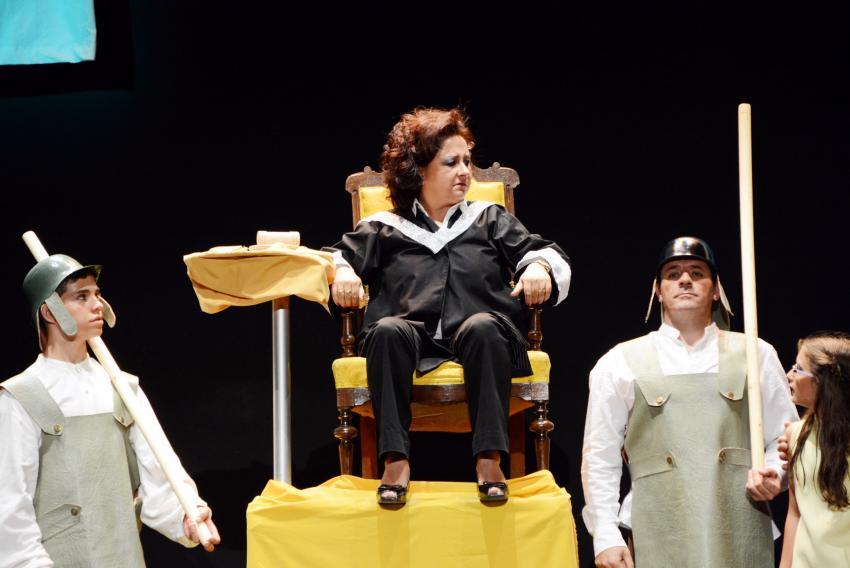 Amplia respuesta de público al proyecto de ' La Teatrería ' de Torralba, en el 5º Festival Nacional de Teatro y Títeres Patio de Comedias