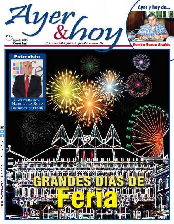 Revista de Agosto 2015 – Ciudad Real