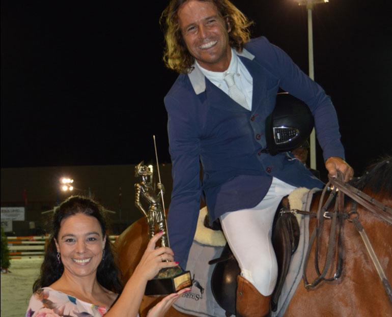 """Javier López-Aróstegui vencedor del Gran Premio """"Ayuntamiento de Ciudad Real"""" del Concurso Hípico Nacional de Saltos"""