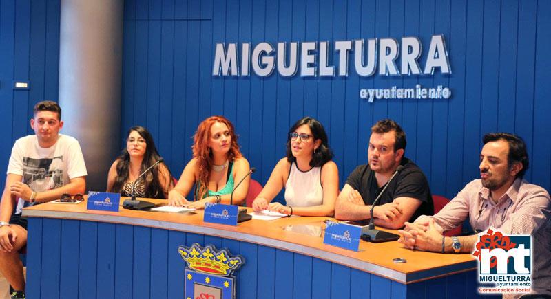 Presentación de los conciertos de las ferias 2015 de Miguelturra