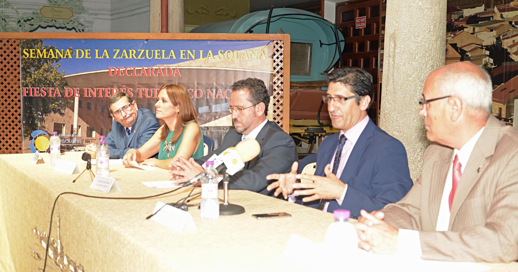La Diputación seguirá apoyando la Semana de la Zarzuela de La Solana