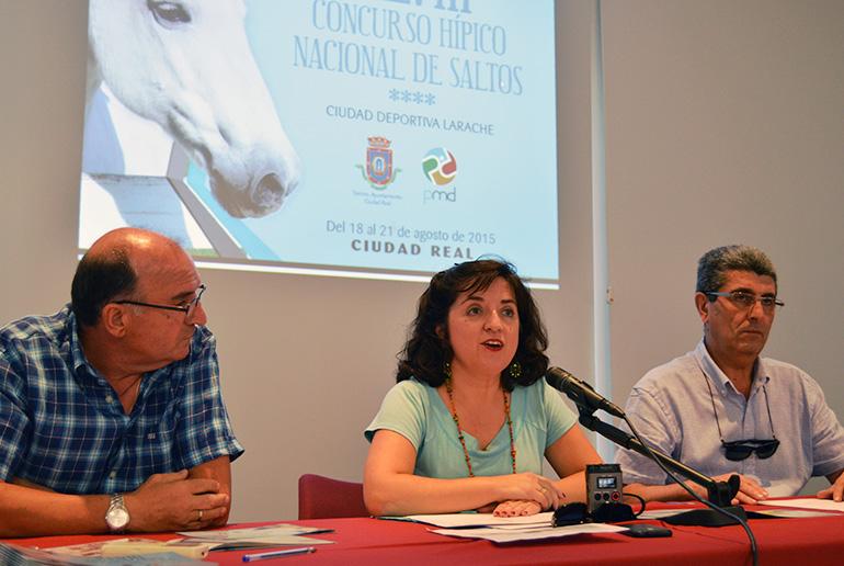 Más de 80 caballos participarán en el XLVIII Concurso Hípico Nacional de Saltos