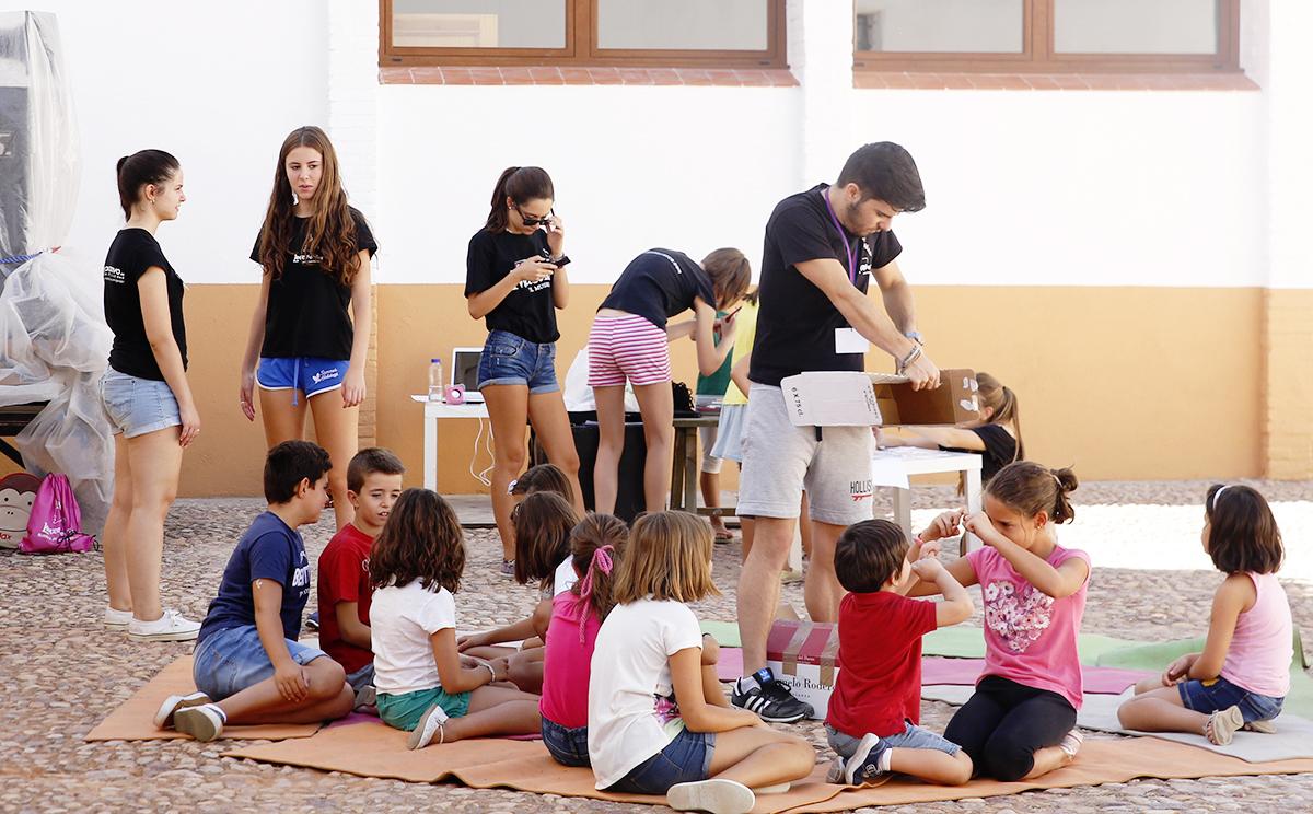 Iniciación al teatro para los más pequeños en el FITCtiritec