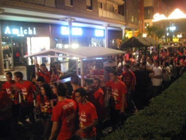 Festejos organiza un concurso de carros de peñas para las Fiestas del Vino
