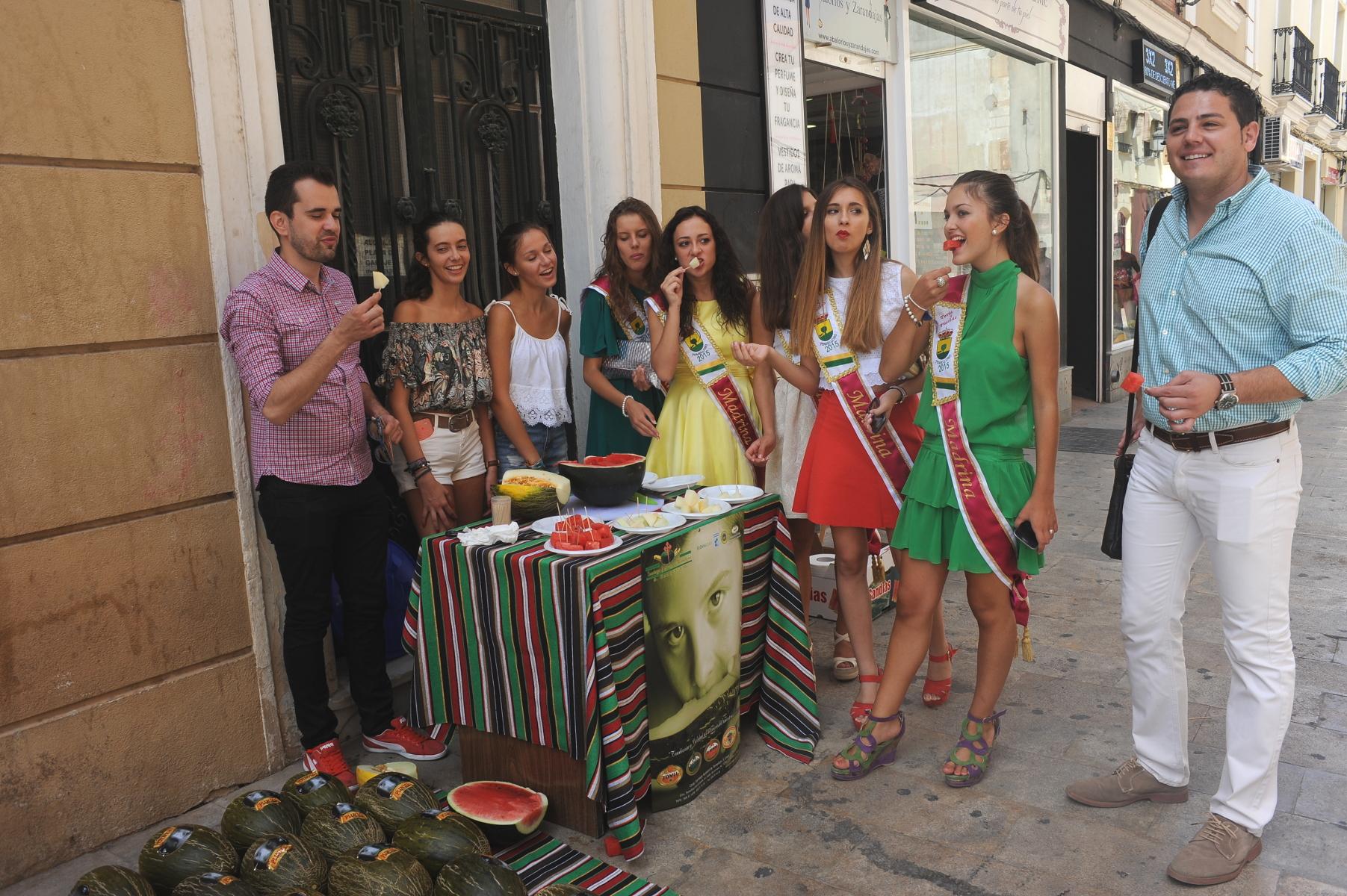 La Feria apuesta por el melón como uno de los productos estrellas de la ciudad
