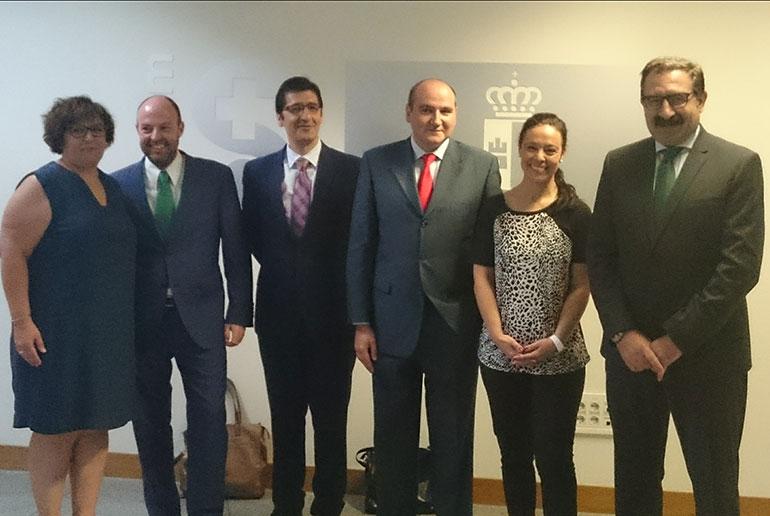 Pilar Zamora asiste a la toma de posesión del nuevo Gerente del Área Integrada de Ciudad Real