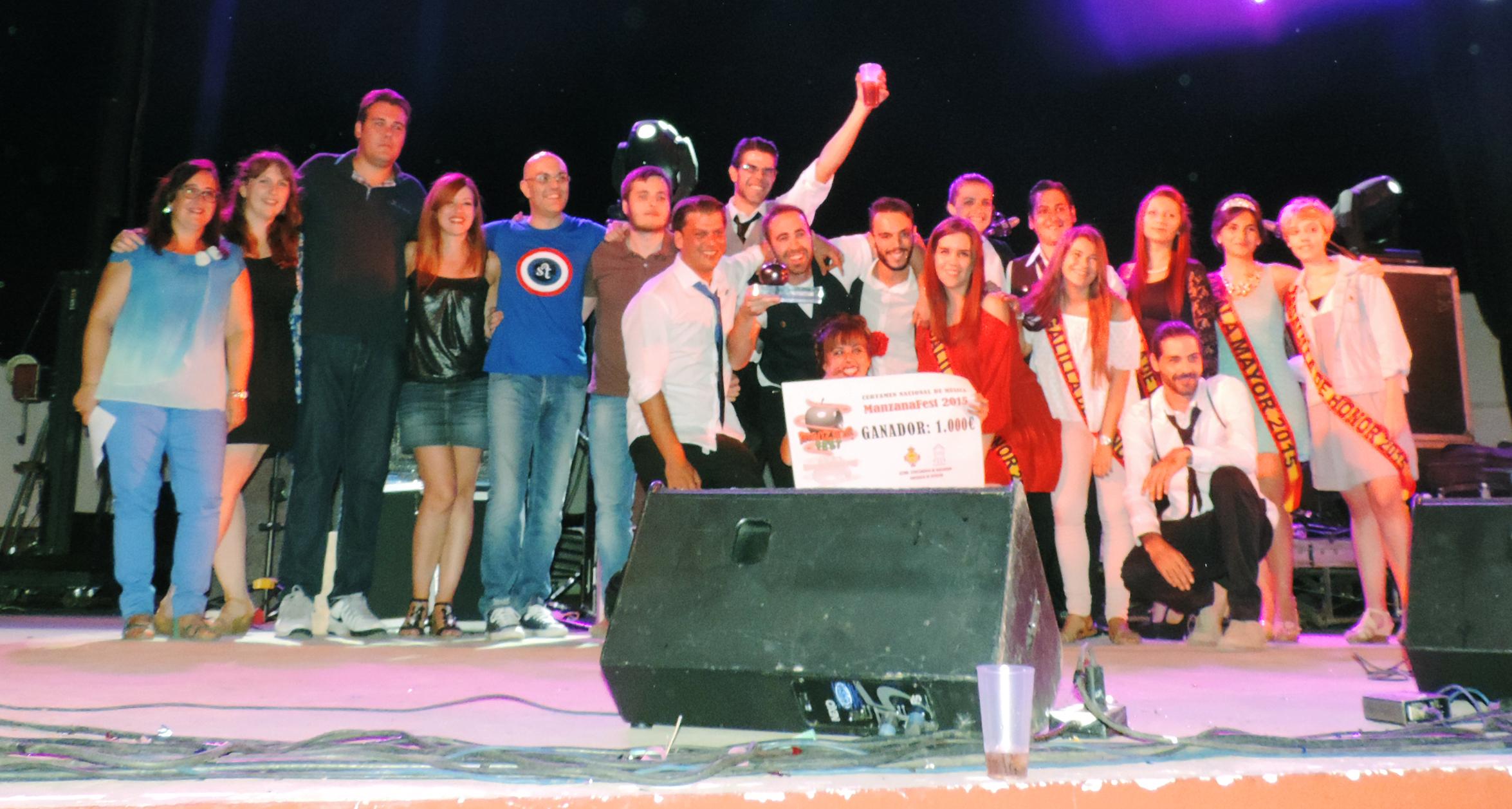 Ganadores del Manzanafest 2015
