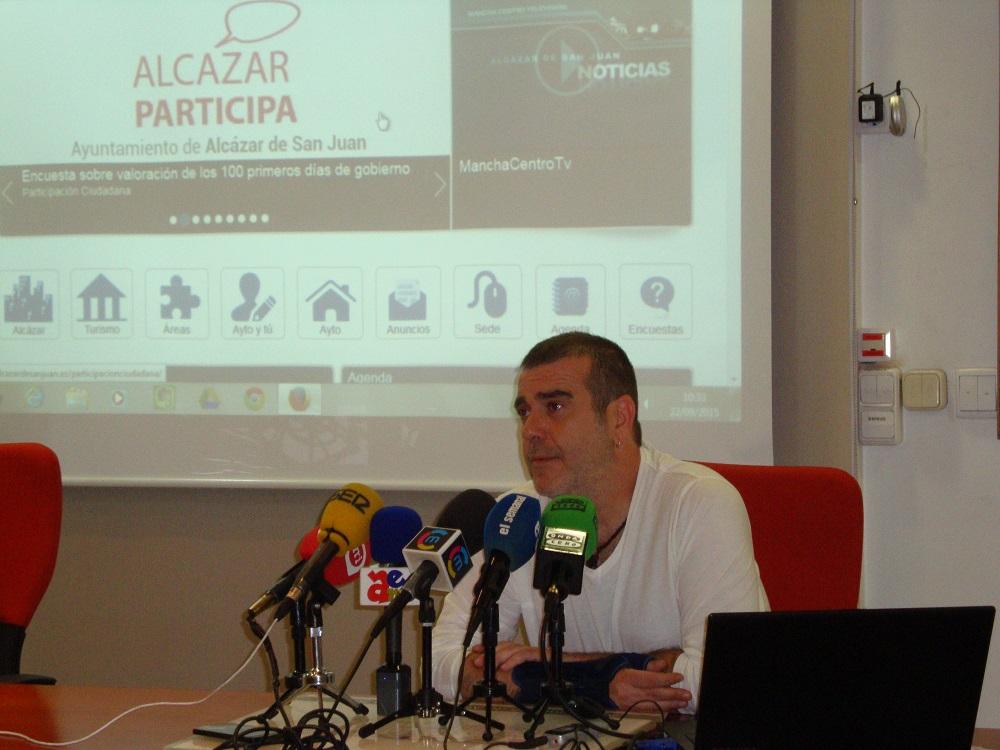 Alcázar Participa, encuesta del ayuntamiento para conocer la opinión de los ciudadanos sobre la gestión del gobierno