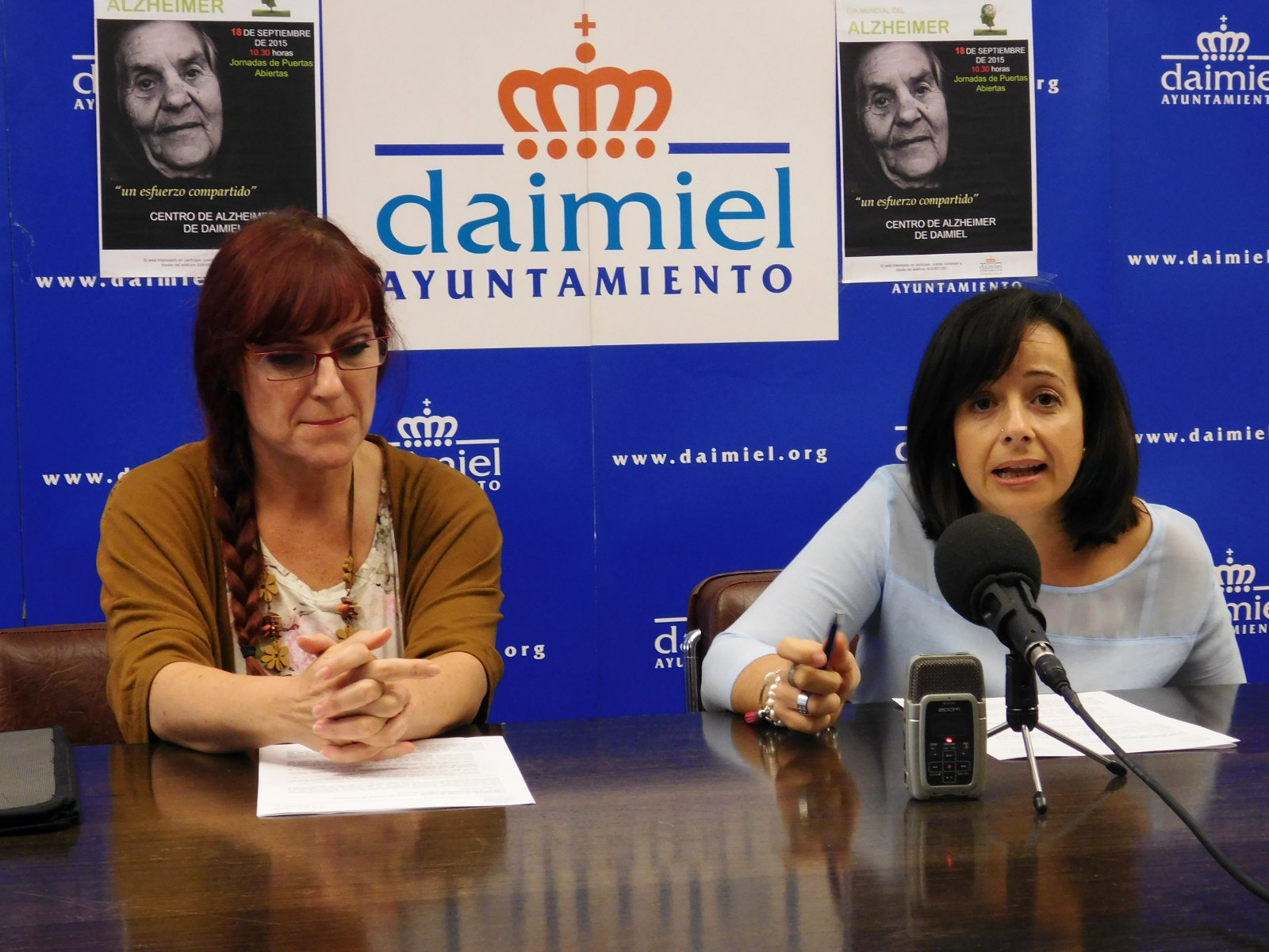 Jornada de puertas abiertas en el Centro de Alzheimer de Daimiel
