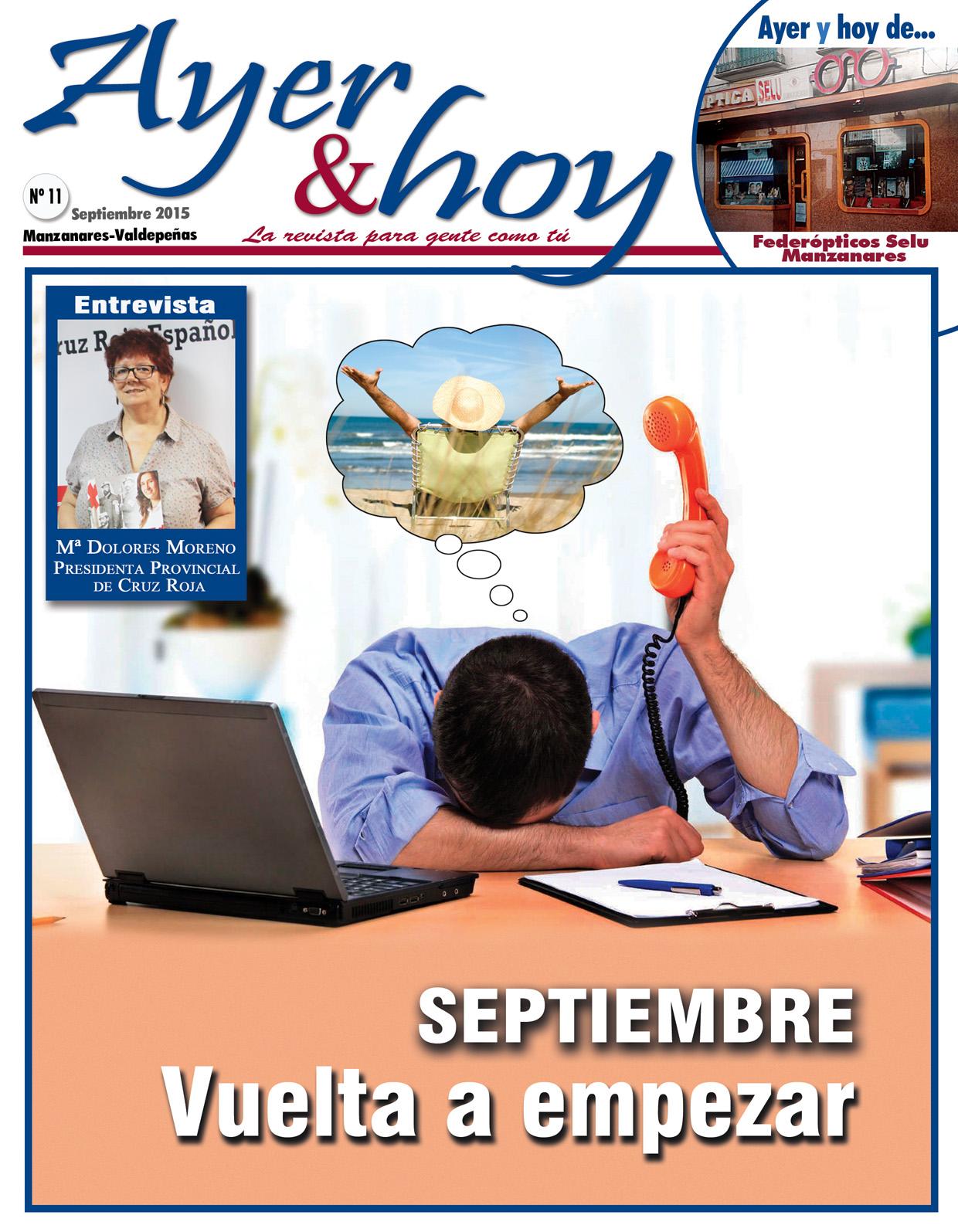 Revista de Septiembre 2015 – Manzanares-Valdepeñas