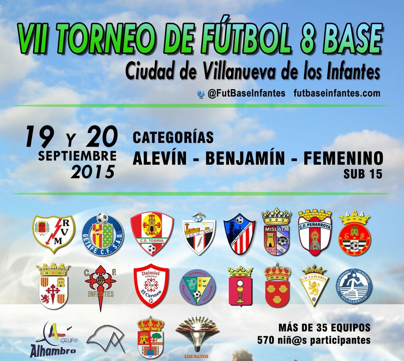 """VII Torneo Nacional de Fútbol-8 Base """"Ciudad Villanueva de los Infantes"""""""