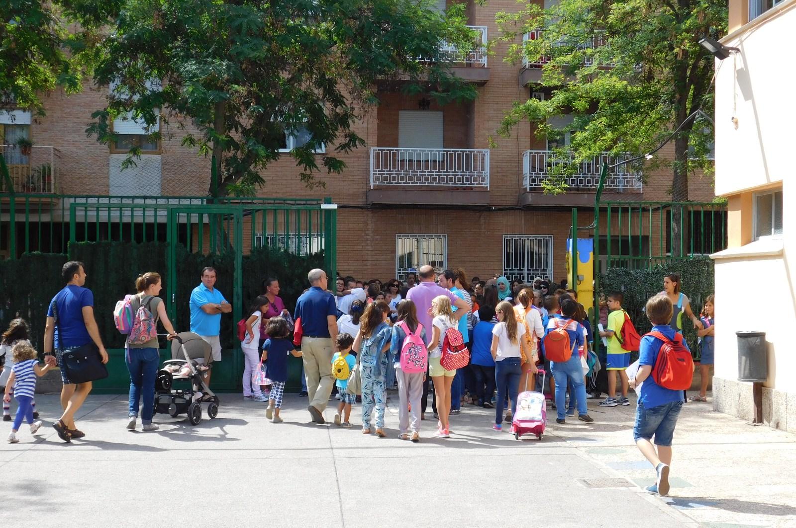 Normalidad en el inicio de curso en los colegios daimieleños