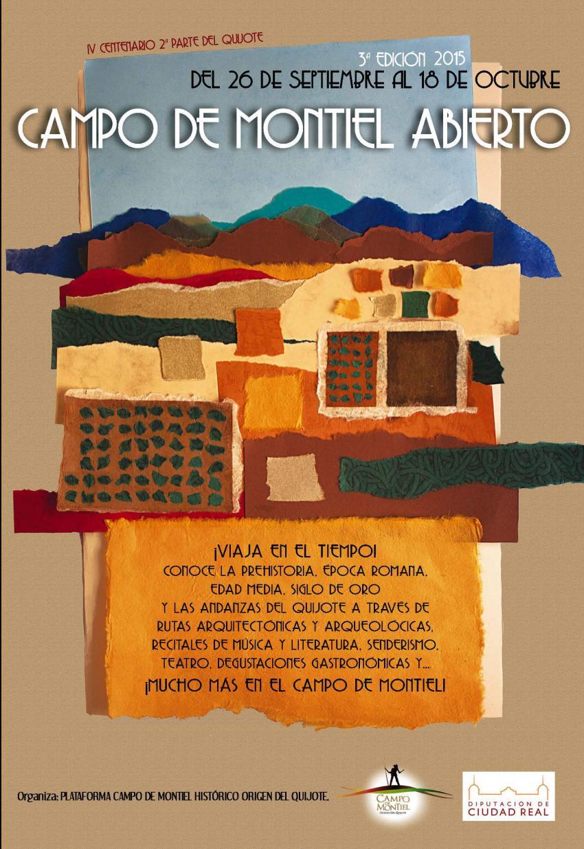 Este fin de semana comienza la 3ª edición del Cultural Campo de Montiel Abierto, que se celebra del 26 de septiembre al 24 de octubre en 23 municipios castellano-manchegos