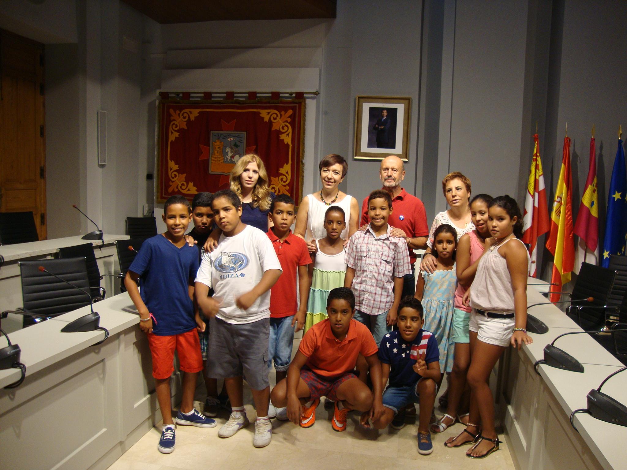 """Acaba un verano entrañable con los niños saharauis del Programa """"Vacaciones en Paz"""""""