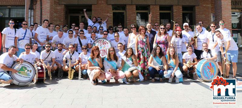 El Encuentro de Charangas anima el domingo de Fiestas en Miguelturra