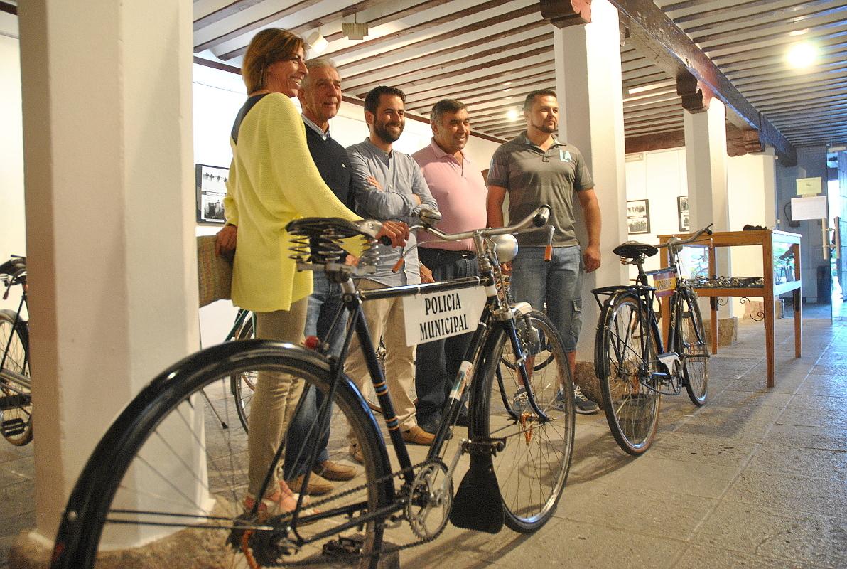 Exposición de bicicletas