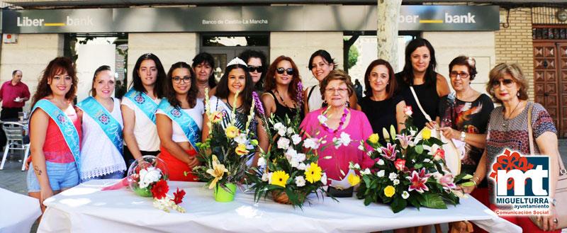 Miguelturra ha celebrado el Vigesimoséptimo Concurso de Centros Florales organizado por la Asociación de Amas de Casa «El Ramo»