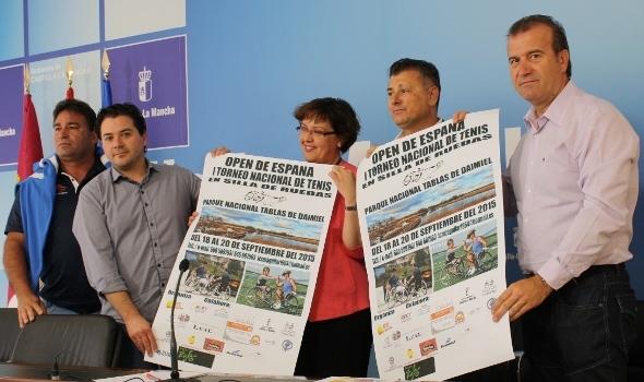El DTC acoge el 'I Torneo Nacional de Tenis en Silla de Ruedas Tablas de Daimiel'