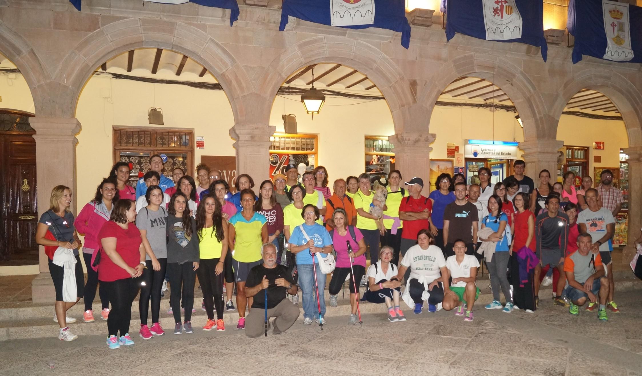 Gran éxito en la III Ruta de senderismo nocturna en Villanueva de los Infantes