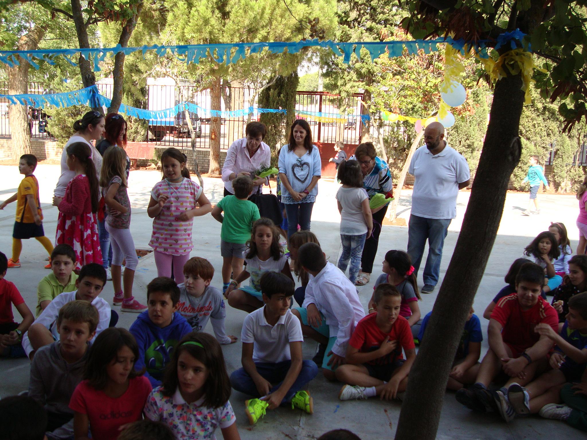 Inicio del curso escolar en Alcázar