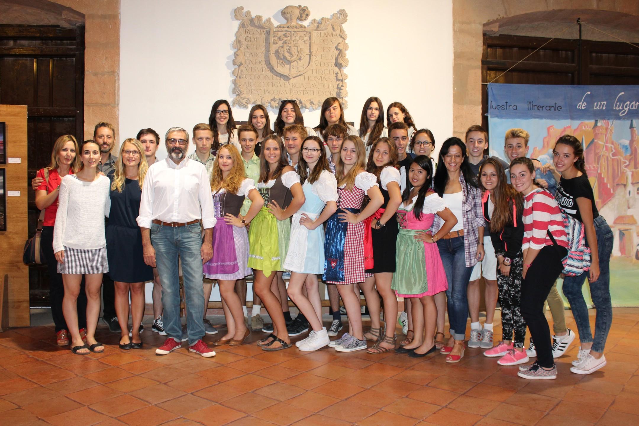 Estudiantes de Alemania visitan Villanueva de los Infantes en un intercambio con alumnado del IES Ramón Giraldo