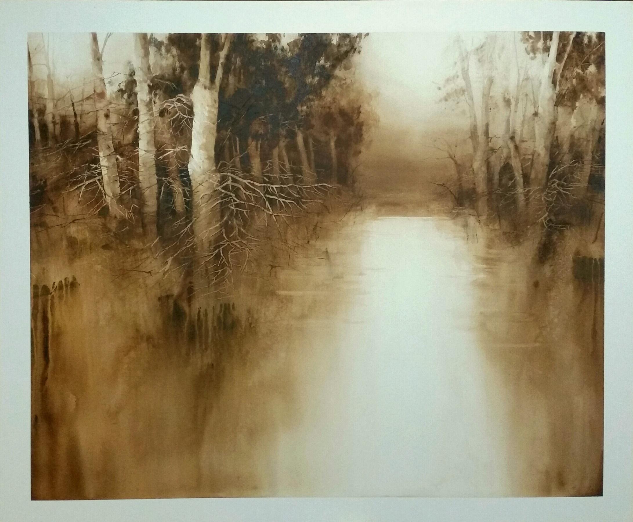 Luz en la Ribera II, de Juan Saturio Santos