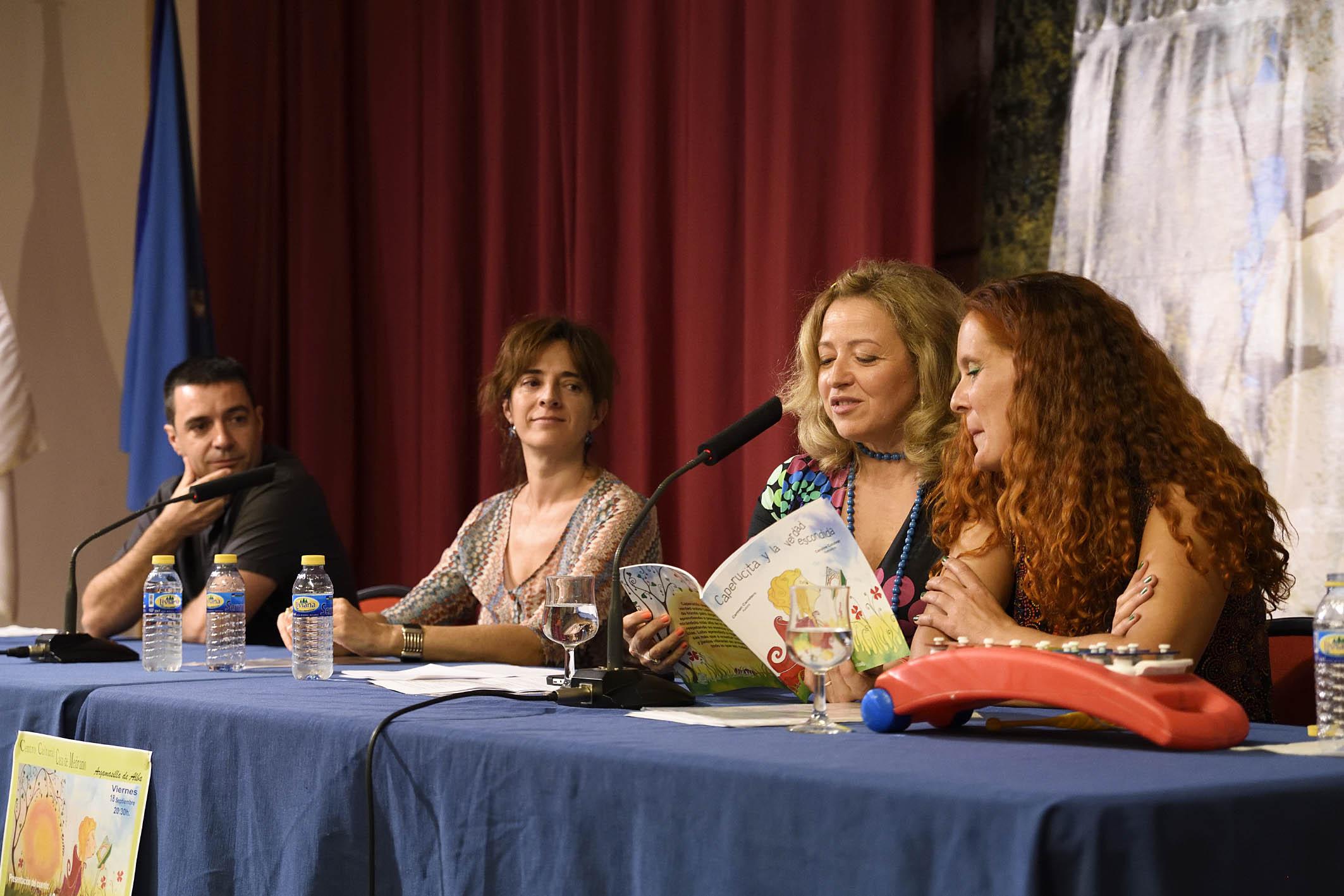La Casa de Medrano acoge la presentación de ' Caperucita y la verdad escondida '