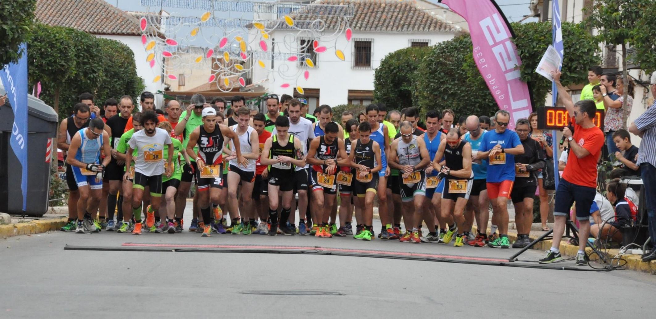 Celebrado con éxito el I Duatlón del Pimiento en Villanueva de los Infantes