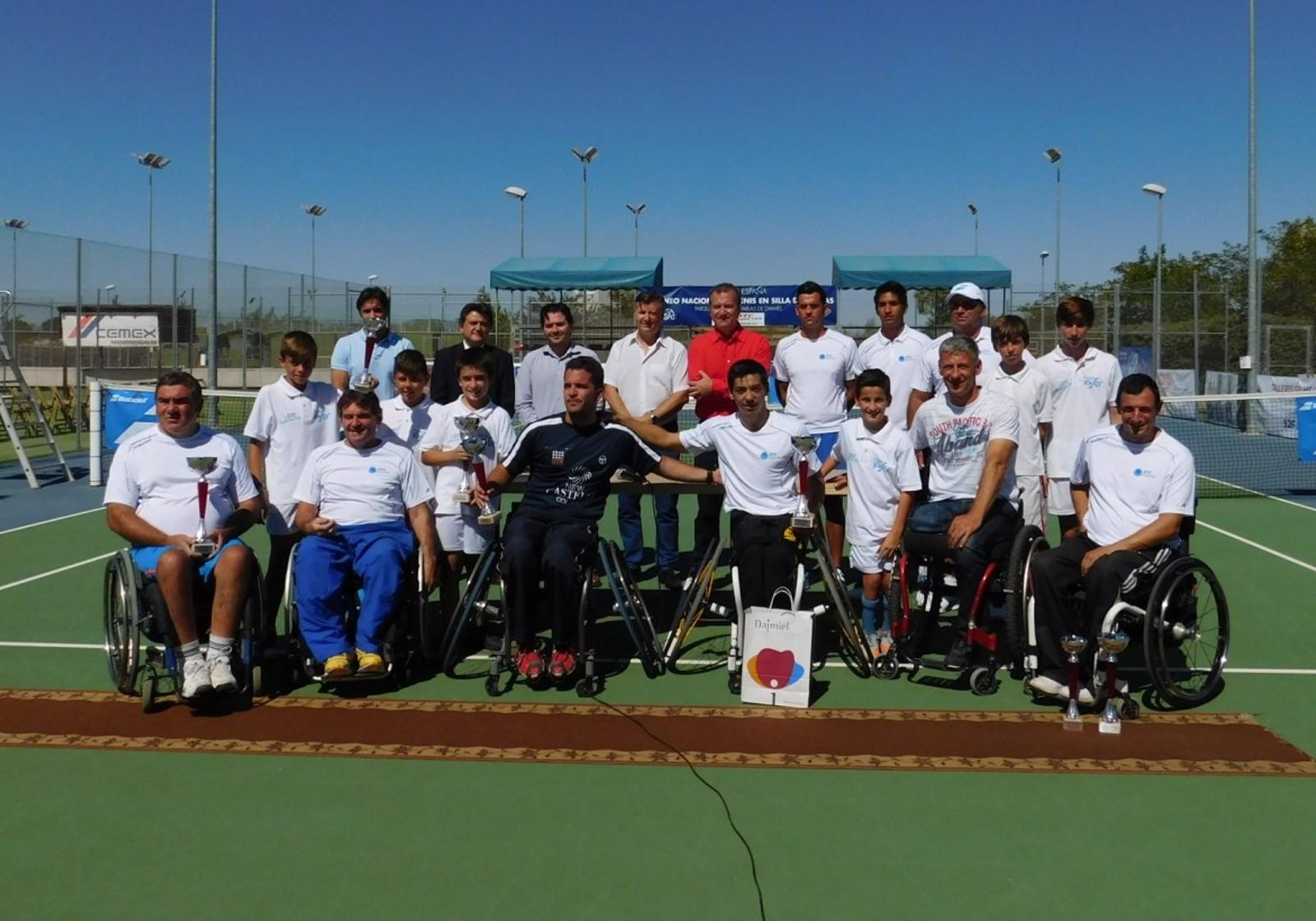 Roberto Chamizo, ganador absoluto del I Torneo de Tenis en silla de ruedas 'Tablas de Daimiel'