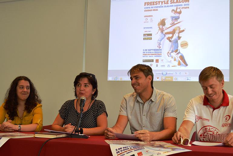 Ciudad Real acoge este sábado la 4ª etapa de la Copa de España Freestyle Slalom Series de Patinaje
