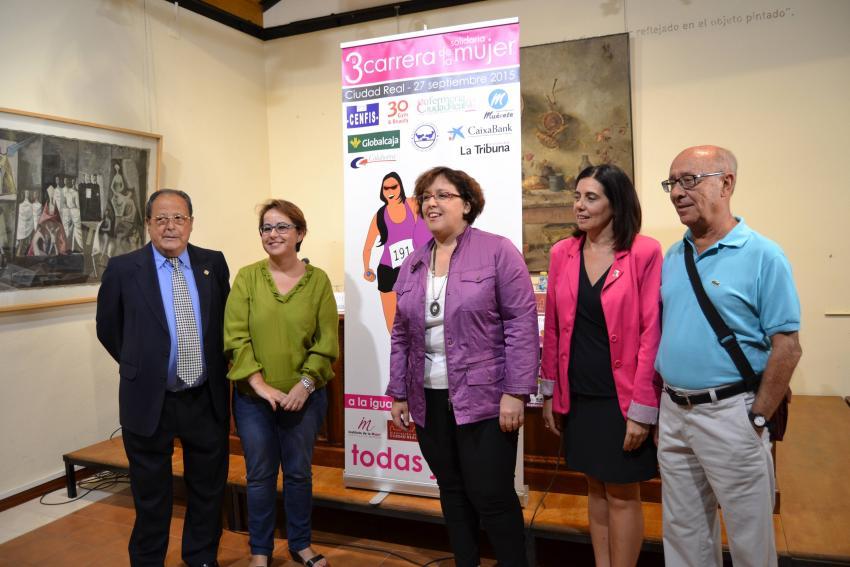 La 3ª Carrera de la Mujer Solidaria de Ciudad Real se fija como objetivo superar las dos mil participantes el 27 de septiembre