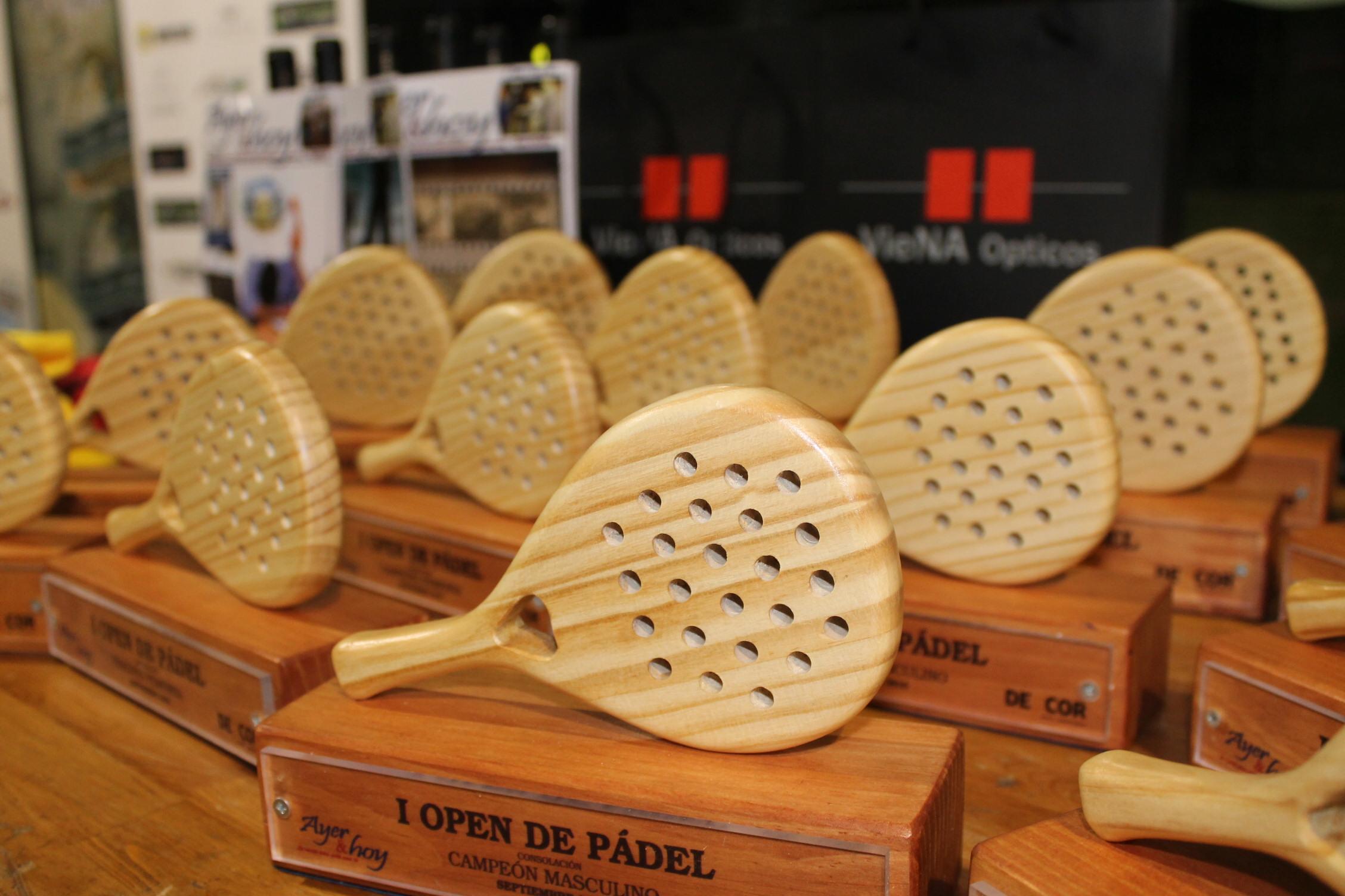 Galería de imágenes del I Open de Pádel Ayer&hoy y Deycor Muebles