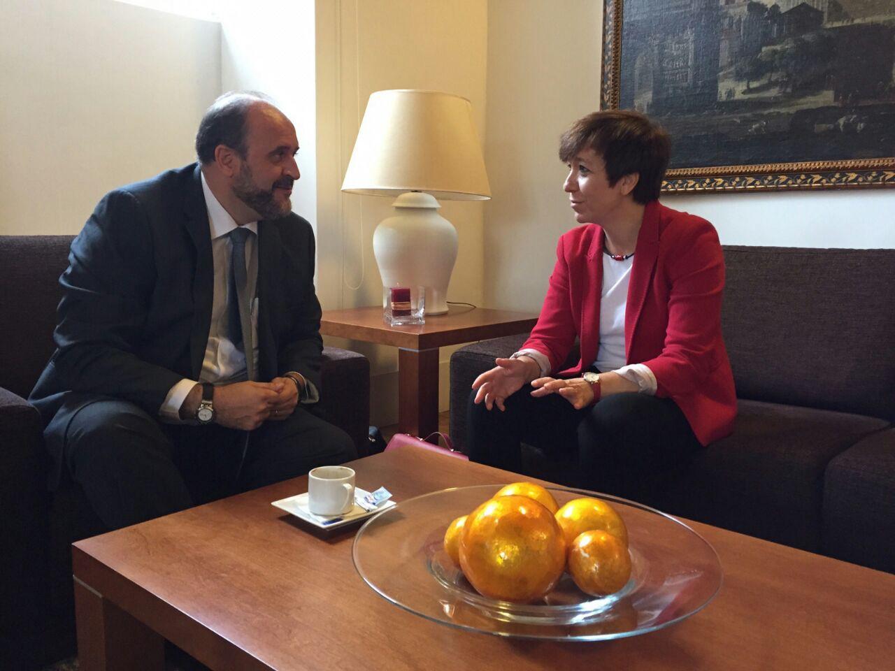El Gobierno Regional manifiesta su apoyo a la Plataforma Logística Intermodal de Alcázar