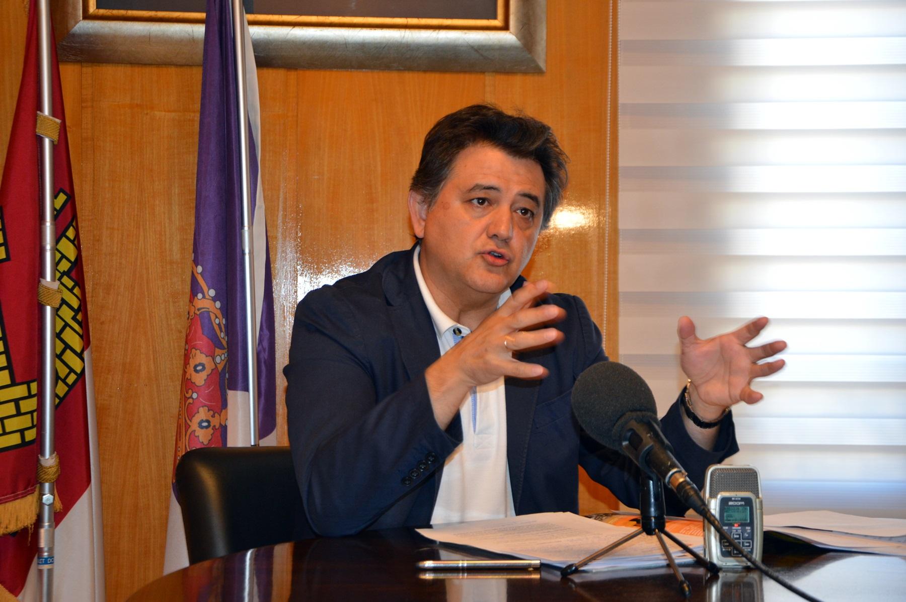 Leopoldo Sierra hace balance de sus cien días en el Gobierno de Daimiel