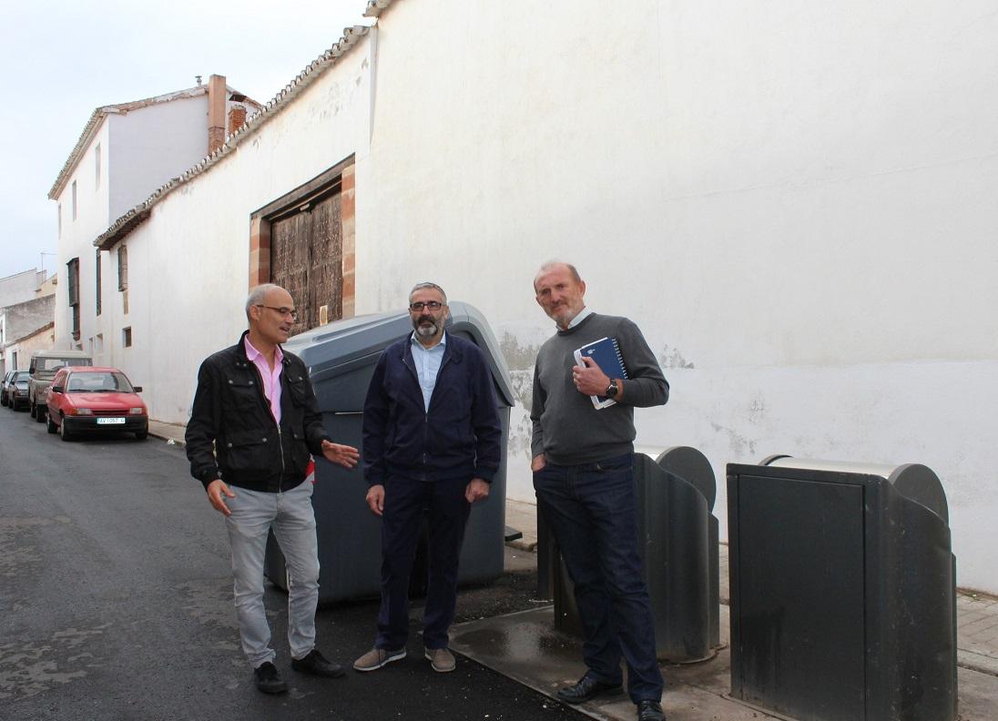 Villanueva de los Infantes estudia volver a poner en marcha el sistema de contenedores soterrados en el casco histórico