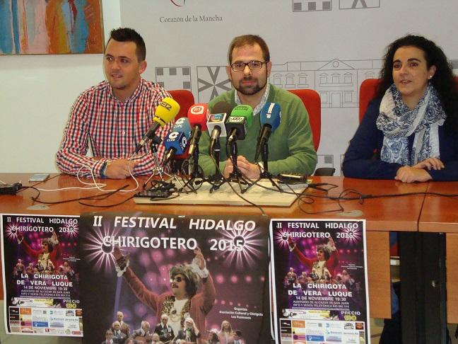 Presentado el II Festival Hidalgo Chirigotero de Alcázar