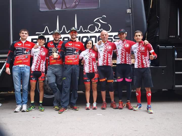 El equipo alcazareño de mountain bike +Pulsacioness Team consigue tres podiums en el Open BTT Maratón de Castilla La Mancha
