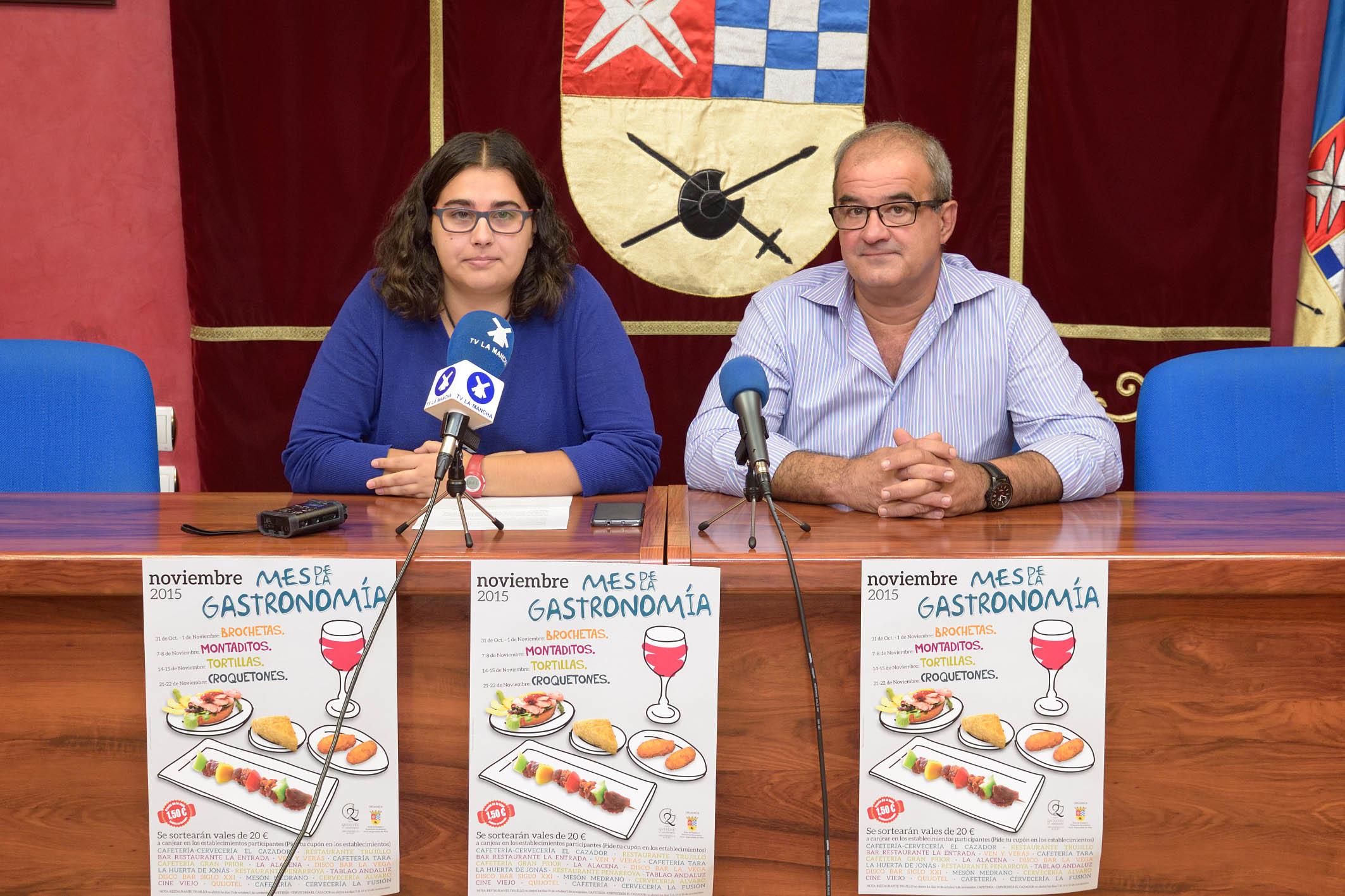 Noviembre, mes de la gastronomía en Argamasilla de Alba