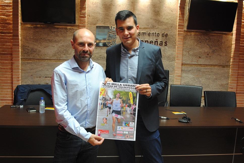 """La XXVI Milla Urbana """"Ciudad del Vino"""", en homenaje a """"Fede"""", se celebrará el próximo lunes"""