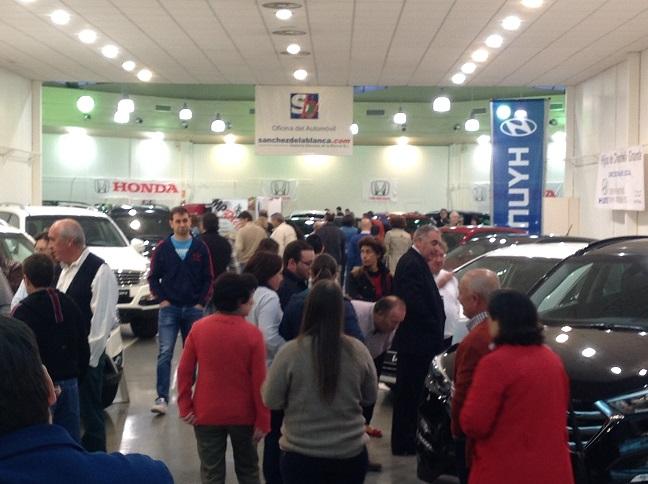 Satisfacción por la afluencia, contactos y ventas directas en el V Salón del Automóvil