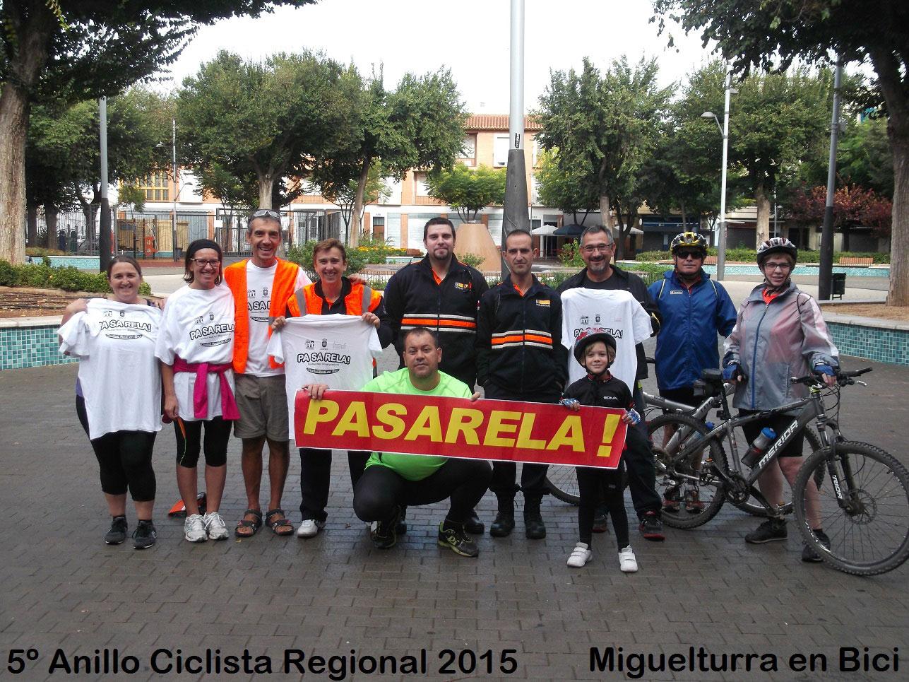 Miguelturra, Ciudad Real y Poblete unidas por el quinto anillo ciclista regional